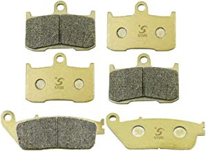 SYUU Motorcycle Replacement Front Rear Brake Pads Brakes for Victory Cross Country 8 Ball Cory Ness Cross Country 2011 2012 FA347F FA347F FA196R
