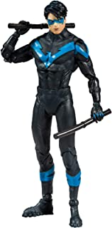 McFarlane Toys DC Multiverse Nightwing: Better Than Batman Action Figure with Build-A Rebirth Batmobile
