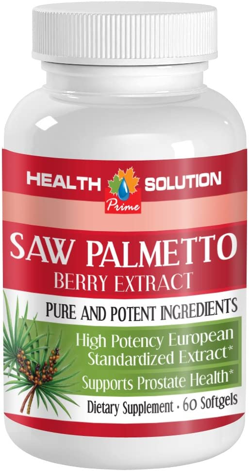 Prostate Natural Supplement - Saw Extract Palmetto P Berry online shop depot
