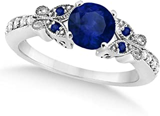 Best blue sapphire diamond engagement rings Reviews