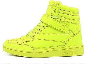 Les Chaussures pour Femmes Les Petites Blanches Augmentent dans Les Montantes pour Femmes Les Chaussures Décontractées pou...