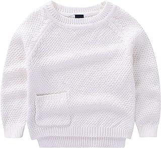 HAXICO Baby Girls Rainbow V-Neck Knits Cardigan Sweaters Sweatshirt Winter Warm Coat Outerwear