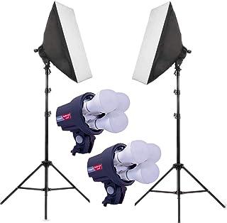 OCTOVA Simpex PRO HD LED 3 TRILITE Photo & Video Studio Light Softbox Lighting Kit, YouTube Shooting, Interview, Training,...