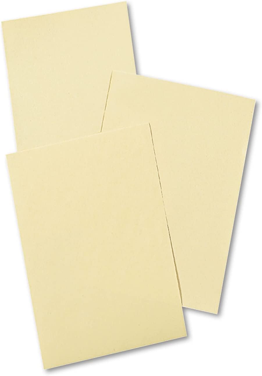 Pacon 4112 Bombing new work Cream National uniform free shipping Manila Drawing Paper 50 x 18 Shee 500 lbs 12