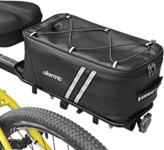 Bicycle Rear Seat Bag Bike Rack Tail Bag Trunk Hanging Luggage Carrier Pouch New