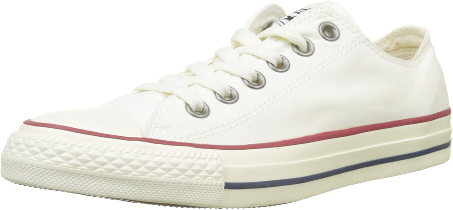 Converse Unisex Adults' CTAS Ox bluee Fir White Black Trainers