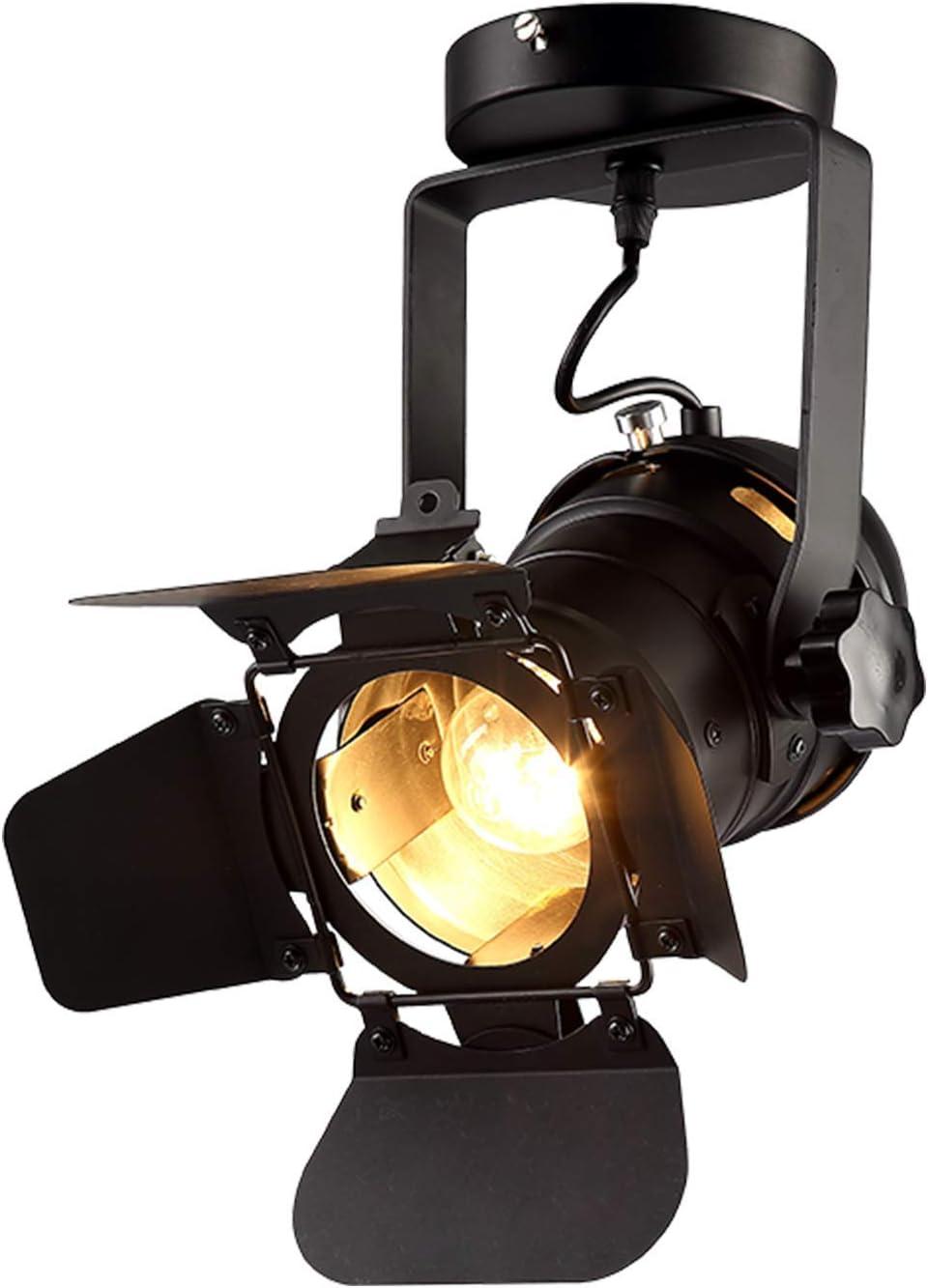 Retro Style 3 Way Eyeball Ceiling Spotlight Fitting Copper Spot Light Lighting