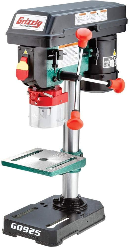 Grizzly Industrial G0925 8-Inch Baby Benchtop Drill Press