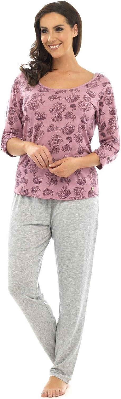 Lora Dora Womens Long Pyjamas Set Pjs Loungewear