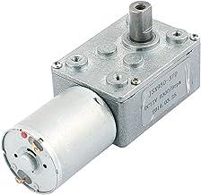 IIVVERR DC 12V 8300/9RPM 2 Terminals Connecting Worm DC Geared Motor JSX950-370 (Terminales DC 12V 8300 / 9RPM 2 que conectan el tornillo sin fin del motor con engranaje DC JSX950-370