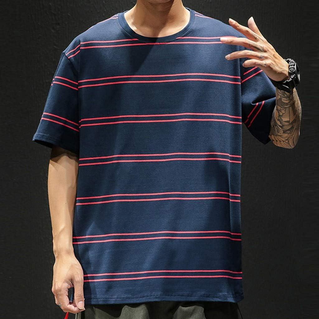 Sylar Camiseta De Manga Larga para Hombre Camisetas Hombre Cuello Redondo con Estampado De Espina De Pescado Sudaderas Hombre Sin Capucha Moda Top Blusa De Oto/ño Personalidad