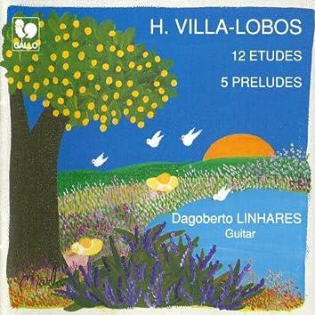 Villa-Lobos: 12 Etudes - 5 Preludes