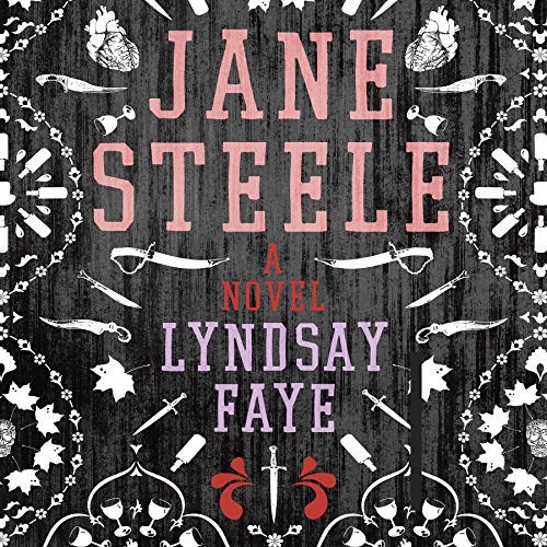 Jane Steele audiobook cover art