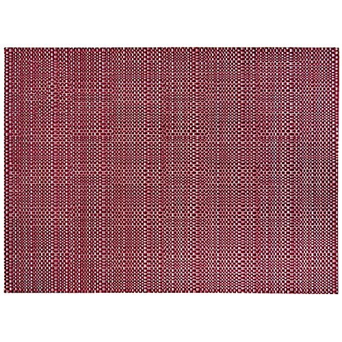 Winkler - Set de table - Décoration table - Tapis de table - Résistant chaleur - Antidérapant - Entretien facile - 75% PVC 25% Polyester - Lie De Vin Brun - Canna