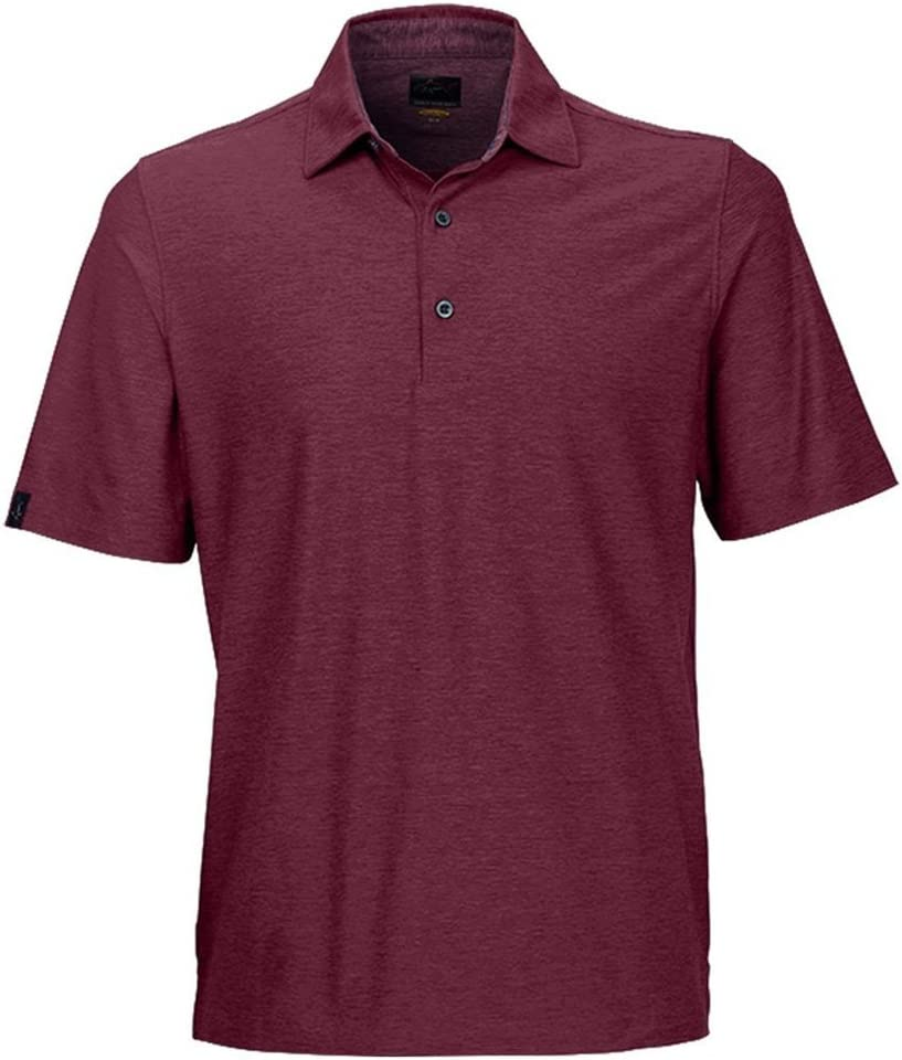 Greg Max 51% OFF Norman New Import Heather Solid Previous Polo Golf Season
