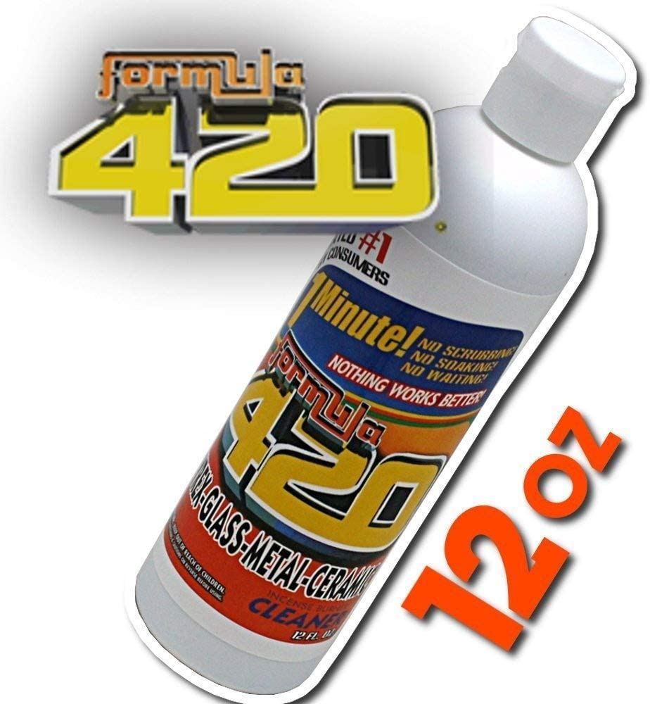 Louisville-Jefferson County Very popular Mall Formula 420 Pyrex Metal and Ceramic 12oz Cleaner