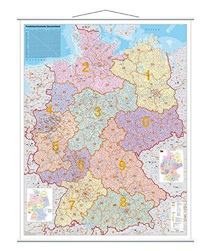 Franken KAM400 Kartentafel Plz (laminiert 1:750.000) 137 x 97 cm