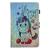 Coopay Brillante Coque Compatible with Samsung Galaxy Tab A6 10.1 pouces T580/T585 (2016) avec Motif...