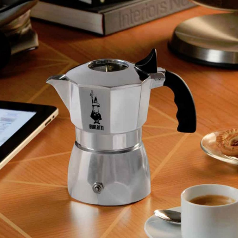 Bialetti - Cafetera Brikka Express La Cremina 4 tazas: Bialetti Industrie: Amazon.es: Hogar