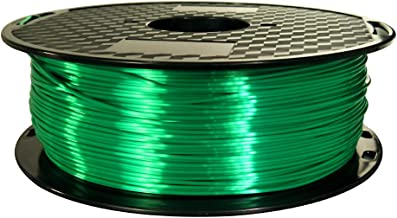 CC3D Silk Jade Green PLA Filament 1.75 mm 3D Printer Filament 1KG 2.2LBS Spool Shiny Emerald Green 3D Printing Materials Shine Silky Shiny Green PLA Silk Color