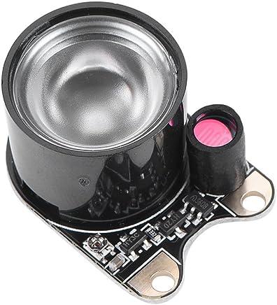 Diyeeni Modulo Fotocamera 5MP Obiettivo grandangolare Fotocamera Modulo w / 2Pcs Luci di riempimento per Raspberry Pi Zero, con sensore Webcam 5V OV5647 e Funzione di Visione Notturna. - Trova i prezzi più bassi