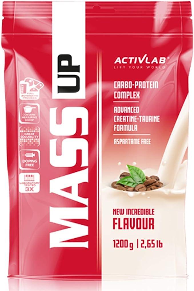 Activlab Mass Up 1 paquete x 1200 g de proteína de suero en ...