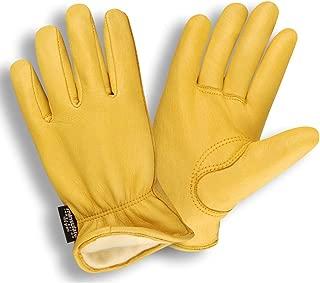 Cordova 9050 Premium Grain Deerskin Drivers Gloves, 100g Thinsulate Insulation, Keystone Thumb, Size: 2XL (1 Pair)