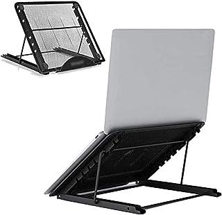 Laptop Stand, Ventilated Tablet Laptop Computer Holder Desk Stand, Six Height Adjustment Universal Lightweight Ergonomic T...