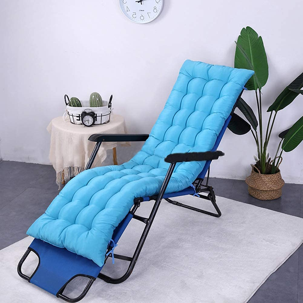 Outdoor Garden Recliner Cushion Patio Max 82% OFF Pad Indoor Swing Colorado Springs Mall Chaise