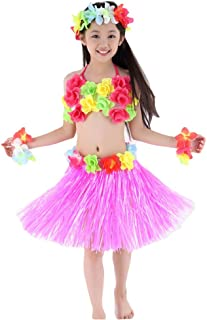 Hawaiian Hula Dance Costume 5pcs for Girls