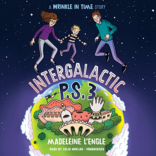 Intergalactic P.S. 3 audiobook cover art