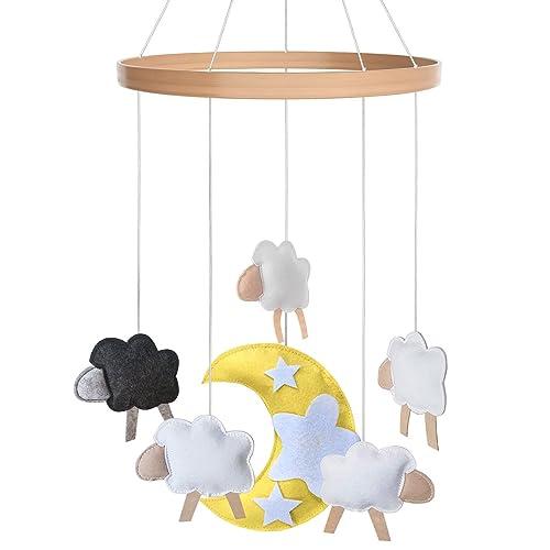 Baby Crib Mobile - Toys Perfect for Boys + Girls by i love bub (Baa Baa Black Sheep)