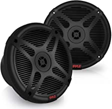 6.5 Inch Marine Speakers - Coaxial 2-Way Waterproof Component Speaker Pair   Audio Stereo Sound System with Wireless RF St...