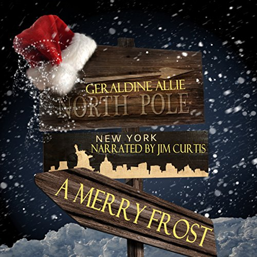 A Merry Frost audiobook cover art