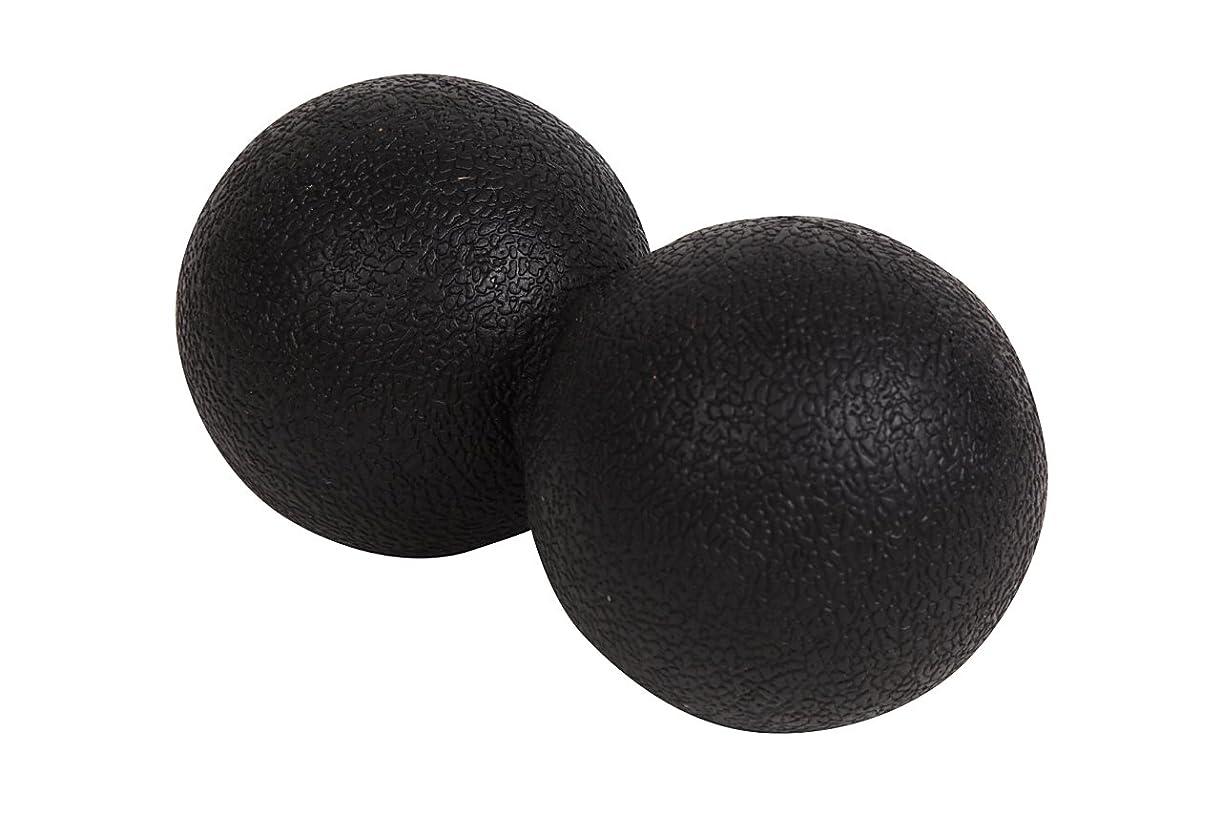 姓アーティキュレーション中でアポロン 肩こり ストレッチボール 背中 首 足裏 マッサージボール 腰 リハビリ ストレッチ ボール 仕事 疲れ ツボ押し これ一つで全身の凝りに (ブラック)
