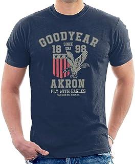 Goodyear Akron Fly with Eagles t-shirt för män