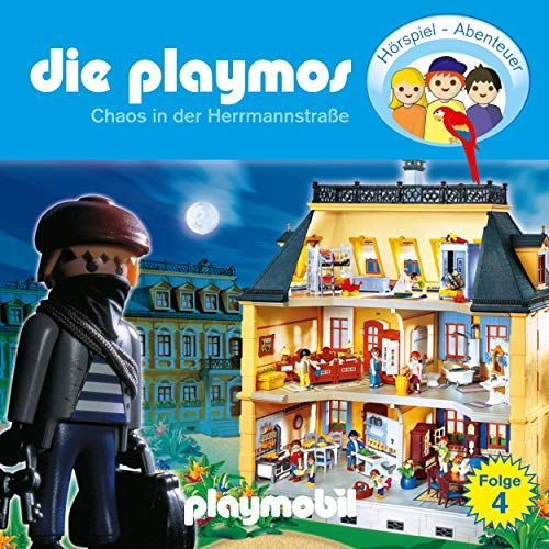 Chaos in der Herrmannstrasse. Das Original Playmobil Hörspiel Titelbild