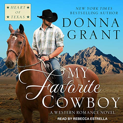 My Favorite Cowboy audiobook cover art