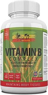 Vitamin B Complex | 8 Essential B Vitamins B1 B2 B3 B5 B6 B7