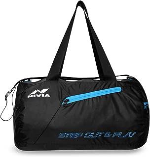 Nivia Deflate 5180BK Polyester Round Bag (Black)