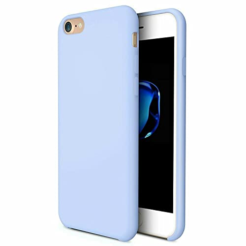 Simple Blue Light Silicone Case For