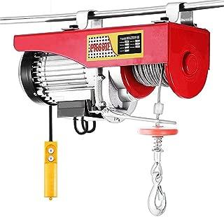 CHOME Tornos eléctricos, polipasto eléctrico con Mando a Distancia, cabestrante eléctrico para el Taller Principal de la fábrica (1050W, 600KG)