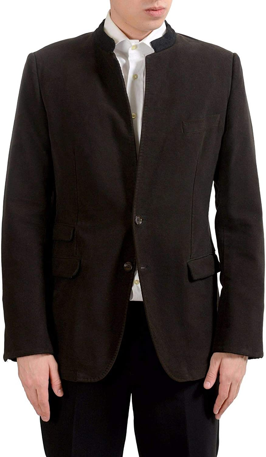 Dolce Gabbana Men's Brown Two Button Sport Blazer 42 Cheap sale I Challenge the lowest price of Japan US Coat