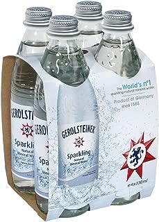 Gerolsteiner Sparkling Mineral Water - 330 ml (Pack of 4)