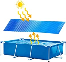 Piscina De Avión Solar Almohadilla Solar Rectangular Para Piscina De Marco Rectangular / Piscina Familiar Inflable, Calefacción Ambiental Y Económica De Agua a Través De La Energía Solar,300X200cm