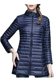 WSPLYSPJY Men Windproof Warm Hood Thick Duck Down Long Down Coat Jacket