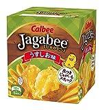 ジャガビー うすしお味 箱90g
