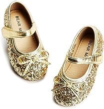 کفش دخترانه Bear Mall کفش Ballerina تخت کفش دخترانه ماری جین (کفش دخترانه کوچک و کودک نوپا / بچه های بزرگ)