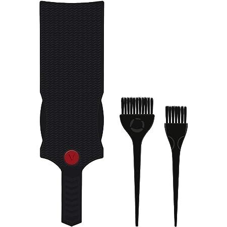 Juego de cepillo y tabla Balayage, pincel de resaltado negro Segbeauty y cepillos de tinte para el cabello Set de peluquería y tinte profesional para ...