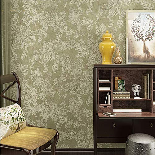 Behang, Modern en eenvoudig, Behang, 3D Stereo Non-Woven, Slaapkamer Woonkamer Slaapbank TV Achtergrond, 0.53 * 10m Modern design size Paarse bloemen